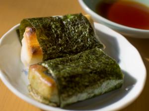磯辺焼き餅